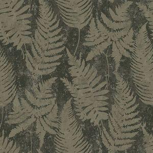 2825-6359 Whistler Leaf Moss Brewster Wallpaper Luxe
