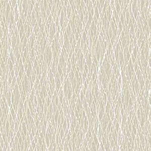 2838-IH2224 Quinn Twist Beige Brewster Wallpaper