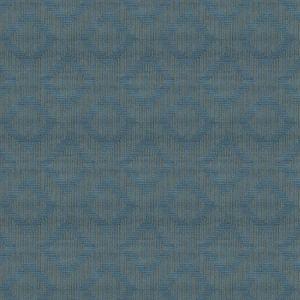 VELVET MAZE Cerulean Fabricut Fabric