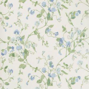 100/6031-CS SWEET PEA Blue Cole & Son Wallpaper