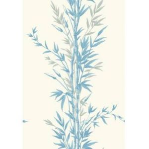 100/5022-CS BAMBOO Blue On Ivory Cole & Son Wallpaper