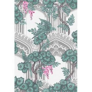 113/13039-CS BABYLON Teal Pink Cole & Son Wallpaper