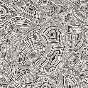 114/17036-CS MALACHITE White Gilver Cole & Son Wallpaper