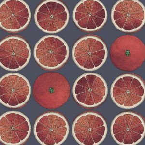 114/24046-CS ARANCE Blood Orange Ink Cole & Son Wallpaper