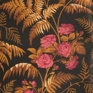 115/10029-CS FOREST Cerise B Orange Black Cole & Son Wallpaper