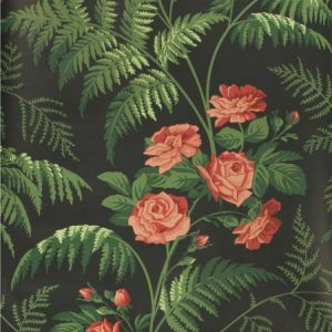 115/10030-CS FOREST Red L Green Charcoal Cole & Son Wallpaper