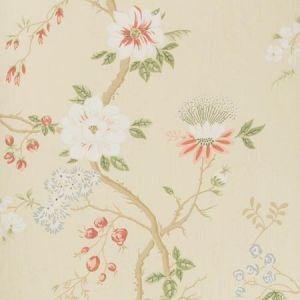 115/8023-CS CAMELLIA Coral Sage Buttercup Cole & Son Wallpaper