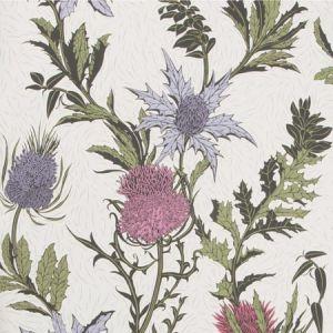 115/14044-CS THISTLE Lilac Cerise White Cole & Son Wallpaper