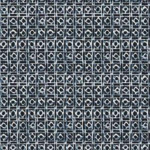 WYLES Indigo Fabricut Fabric