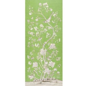 175040 Schumacher Chinois Palais Lettuce Fabric