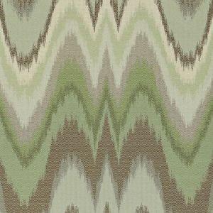 Schumacher Bargello Aquamarine Fabric
