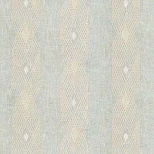Stroheim Emergent Lattice Latte Fabric