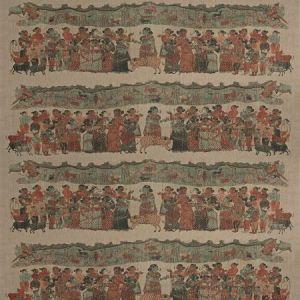Vervain Kumpulan Cinnabar Fabric
