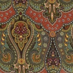 ZANESVILLE 3 Jewel Stout Fabric