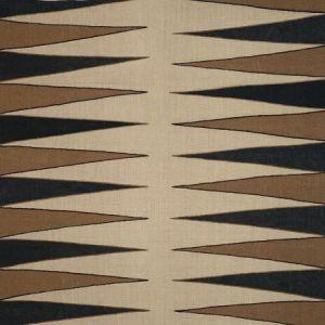 Schumacher Moorea Lava Black Fabric