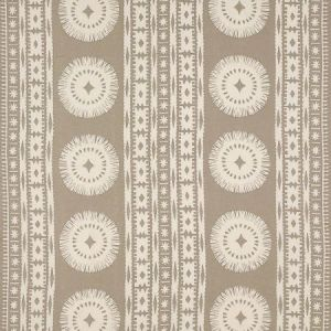 Schumacher Bora Bora Print Sea Oyster Fabric