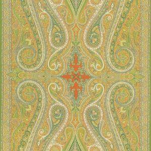 Schumacher Pasha Paisley Bittersweet Fabric