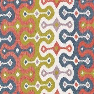 Schumacher Darya Ikat Caravan Fabric