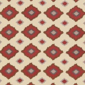 Schumacher Sikar Embroidery Pomegranate Fabric