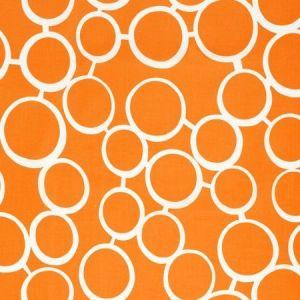Schumacher Sunglass Print Orange Fabric