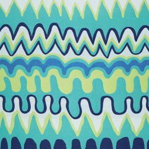 Schumacher Zig Zag Weave Laguna Fabric