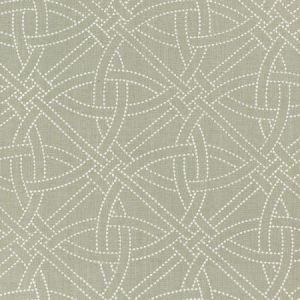 Schumacher Durance Embroidery Mineral Fabric