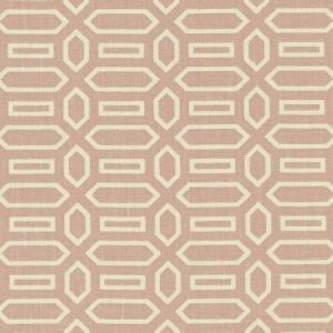 Schumacher Pavillion Temple Pink Fabric