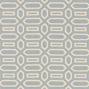 Schumacher Pavillion Orpington Blue Fabric