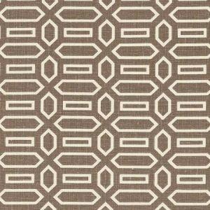 Schumacher Pavillion Berber Brown Fabric