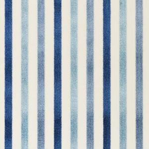 Schumacher Le Matelot Blue Fabric