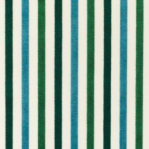 Schumacher Le Matelot Peacock Fabric