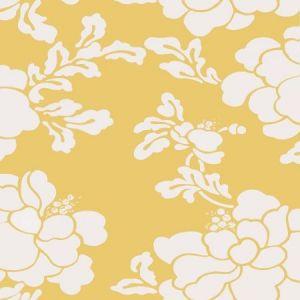 Stroheim Sister's Peony Maize Wallpaper