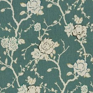 Kravet Night Vine China Blue Fabric