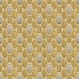 Groundworks York Castle Gold Fabric