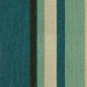 Groundworks Drummond Stripe Blue Aqua Fabric