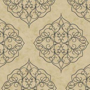 York BH8342 Rose Window Wallpaper