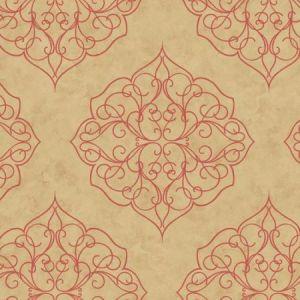 York BH8343 Rose Window Wallpaper