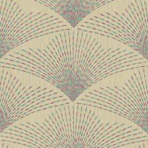 York BH8303 Shimmering Fan Wallpaper