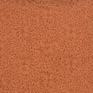 Vervain Chrysanthemum Red Jasper Fabric