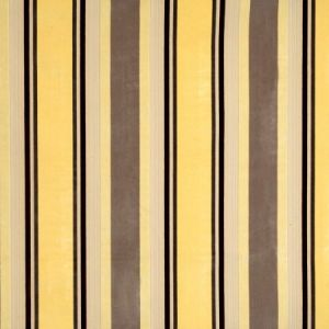 Vervain Gene Stripe Yellow Maize Fabric