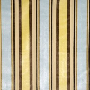 Vervain Gene Stripe Seaglass Fabric