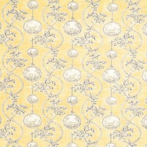 Vervain Warrenton Toile Yellow Fabric