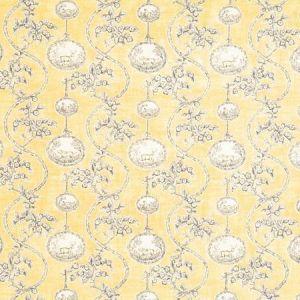 Vervain Warrenton Toile Yellow Fabric
