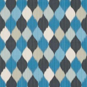 Schumacher Harlequin Peacock Fabric