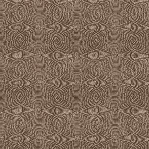 Vervain Crop Art Circles Cocoa Fabric