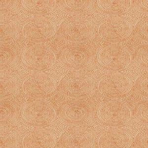Vervain Crop Art Circles Bittersweet Fabric