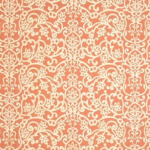 Vervain Treillage D'Alhambra Sunset Orange Fabric