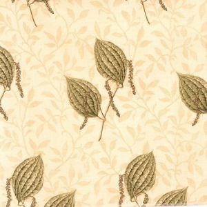 Vervain Pepper Pods Antique Spruce Fabric