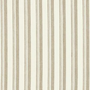 Schumacher Capri Beige White Fabric
