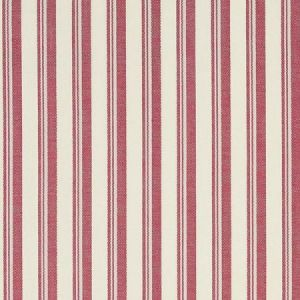 Schumacher Capri Red White Fabric